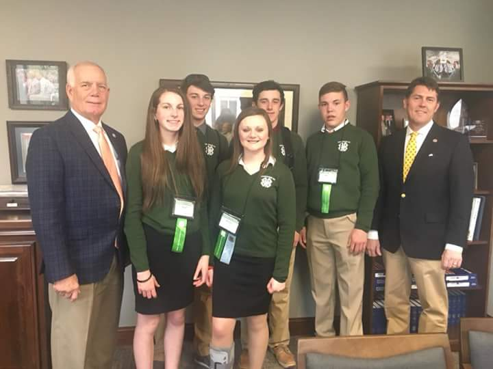 4-H congress - Marsh and Reeves