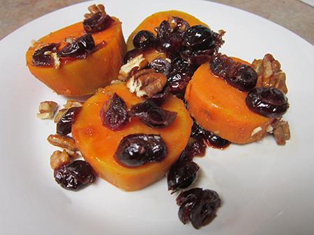 Cranberry Orange Sweet Potatoes