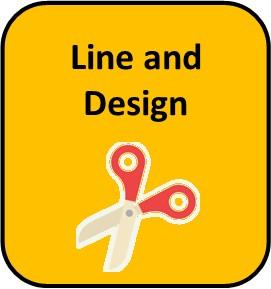 Line and Design Icon