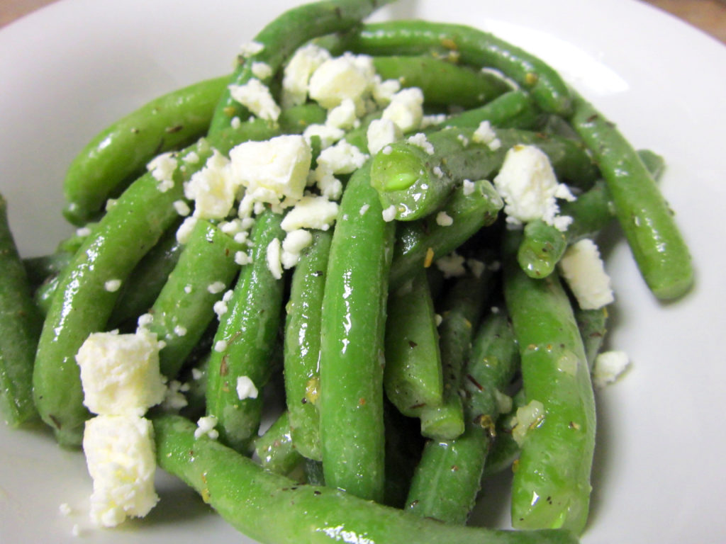 Green Beans With Tangy Vinaigrette