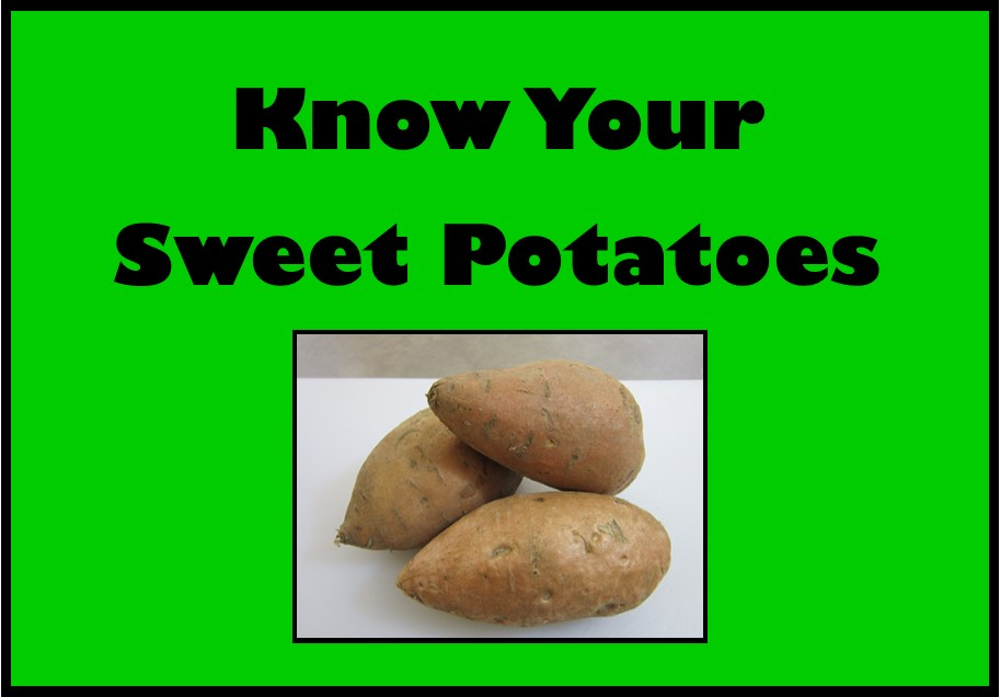 Know Your Sweet Potatoes Video Icon